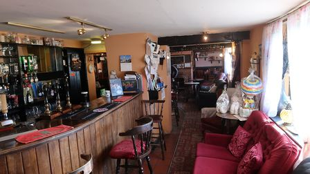Inside the Butchers Arms in East Ruston, which is closing down. Picture: STUART ANDERSON