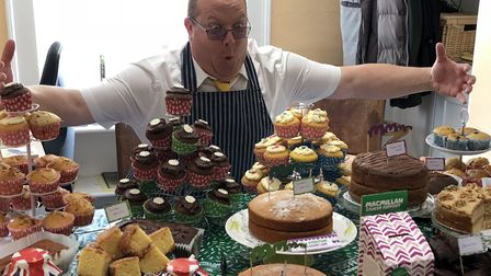 Macmillan Coffee Morning at Hayes + Storr offices in Holt.Pictures: Hayes and Storr.