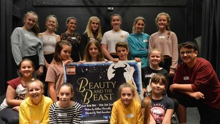 Youngsters who turned out for panto auditions at Sheringham Little Theatre. Picture: Richard Batson