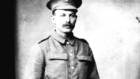 William Thirst was just 30 when he died in the First World War. Pictures: supplied by Tim Thirst
