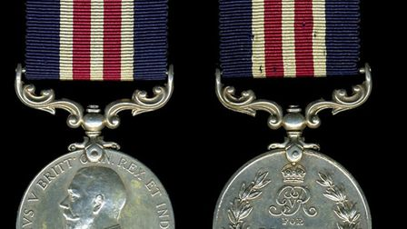 A military medal from the First World War. Pictures: supplied by Tim Thirst