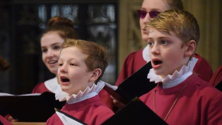 Norwich Cathedral Choir, who will be performing as part of this year's Coast Arts Festival. Picture: