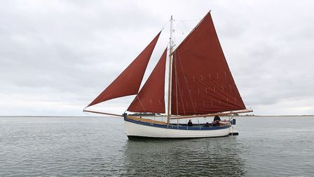 Salford will be sailing into Cley harbour. Pictures: supplied by Mel Kemp