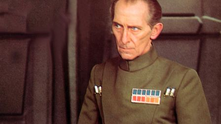 Peter Cushing in Star Wars Episode IV A New Hope (1977)
