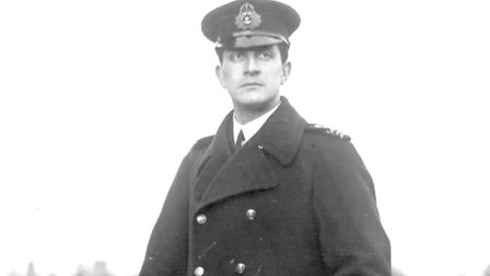 Oliver Locker-Lampson MP, officer commanding the Russian Armoured Car Division. Picture: supplied by