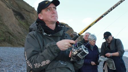 Norfolk Angling Club member Dene Conway is among those hoping to represent England in the World Fish
