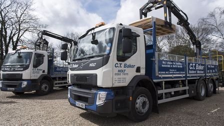 C T Baker has been shortlisted for a Builders Merchants Award for Excellence. Photo: C T Baker
