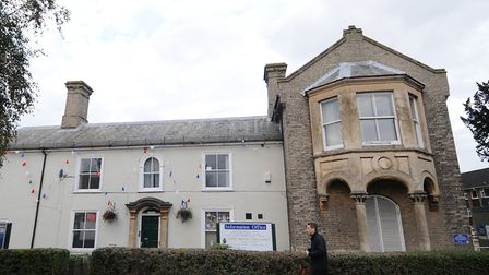 The former North Walsham town council offices where Wetherpoon's plans to open a new pub. Picture: A