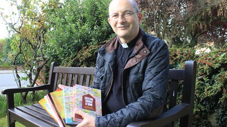 Worstead Baptist Church minister Rev Patrick Coghlan, whose latest book aims to lead victims of trau