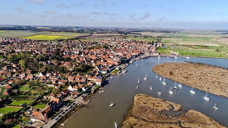 Wells, in north Norfolk, where a third of all properties bought in the district from 2017 to 2018 we