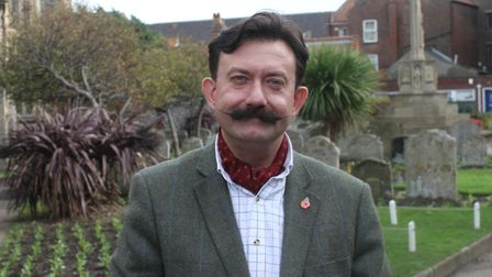 Author and historian Neil Storey, who will be giving a talk on the First World War at Sheringham Lit