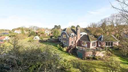 This house could be demolished with eight homes set to be built on the site. Picture: Sowerbys