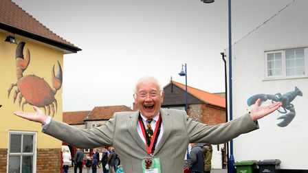 Noel Gant in his role as joint Crab and Lobster Festival chairman.PHOTO: ANTONY KELLY