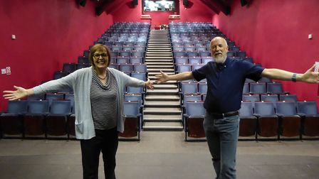 Seats are being replaced at Sheringham Little Theatre. Pictures: Richard Batson