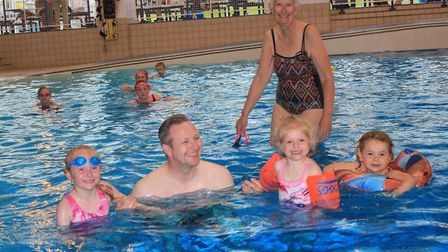 Fun for all the family at the 30th anniversary celebrations at Splash. Photo: KAREN BETHELL