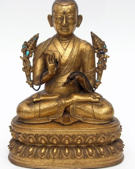 The lama statue, sold at Keys Fine Art Auctioneers in Aylsham for 56,000. Picture: KEYS FINE ART AUC