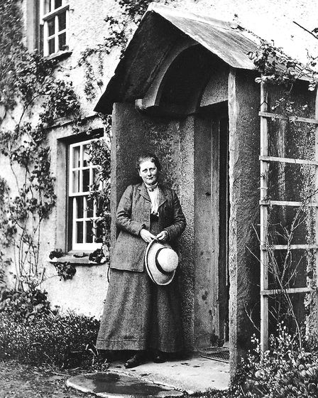 Beatrix Potter in 1913. Picture: CHARLES KING/PUBLIC DOMAIN