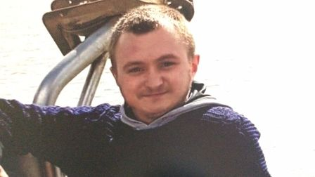 Adam Brown, who took his own life in June this year, in Cromer. Picture: Brown family