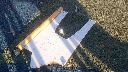 North Walsham play park vandalised. Pictures: North Walsham Town Council