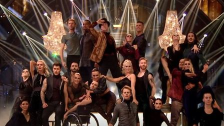 North Norfolk's Fabian Jackson and Candoco dancers join professional dancers from Strictly for a con
