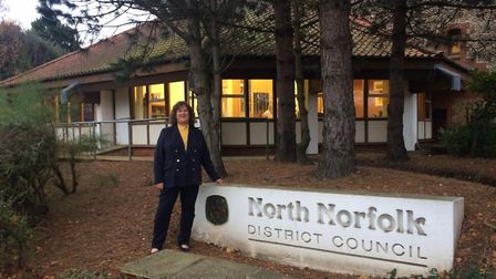 Sarah Butikofer is the new leader of NNDC. Pictures: David Bale