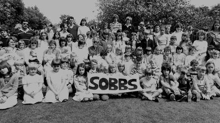 A photo of a Save Our Baby Beds campaign at North Walsham War Memorial Hospital in 1985. Picture: No