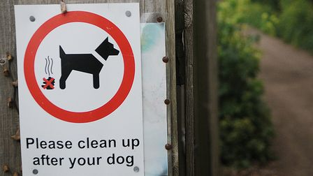 A crackdown on dog fouling in north Norfolk is under way. Picture: Chris Bishop