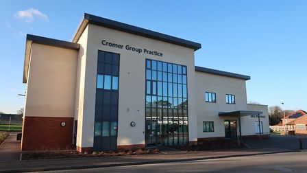 A general view of the new Cromer Group Practice building. Picture: STUART ANDERSON