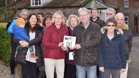 Villagers in Swanton Abbott are keen to purchase the village pub from the current owner so they can
