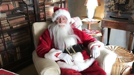 Santa experience at the Mannington Estate. Picture: Mannington Estate