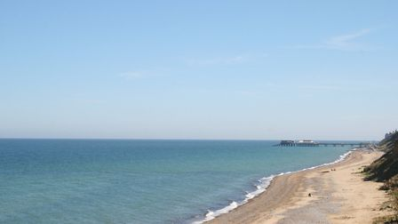 More accolades for the quality of north Norfolk''s coastal waters. This picture shows East Runton lo