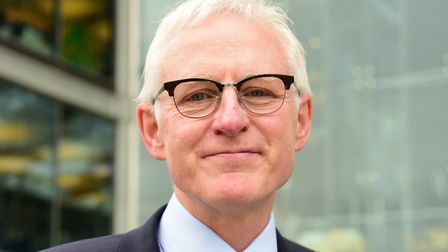 North Norfolk MP Norman Lamb surveyed constituents about NHS services in the area. Picture: DENISE B