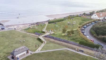 Artist's impression of North Lodge Park, Cromer after the revamp. Picture: Friends of North Lodge Pa