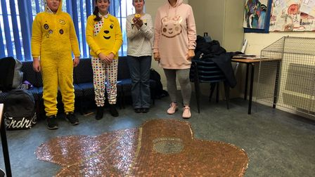 Children in Need at All Saints, Lessingham. Picture: Susan Gothard