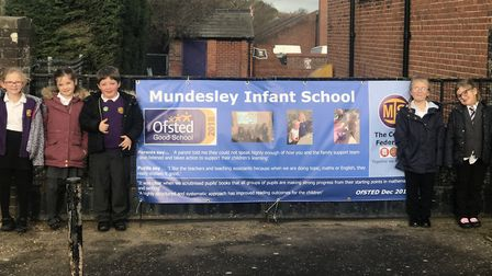 Mundesley Infant School has maintained its rating of good. Picture: Mundesley Infant School