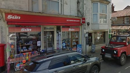 The former East Runton Tearooms and newsagents could be turned into flats and houses. Picture: Goog