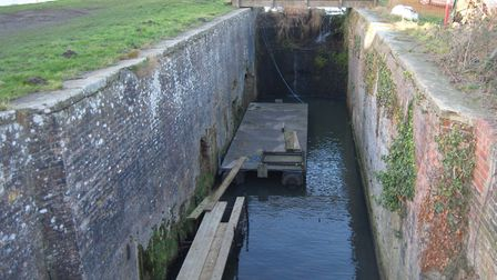 Ebridge Lock. Pictures: North Walsham and Dilham Canal Trust