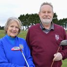 Husband and wife David and Diana Clarke became Mundesley Golf Club captains on New Year''s Day Pict