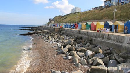 Sheringham's promenade has apparently seen an increase in dog fouling reports. Picture: SIMON BAMBER