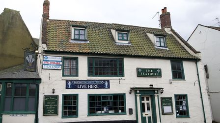 The Feathers pub in North Walsham when it was open. Picture: MARK BULLIMORE