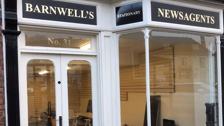 Barnwell's is moving from 33, Market Place to 31, Market Place in Aylsham. Shame about the spelling.