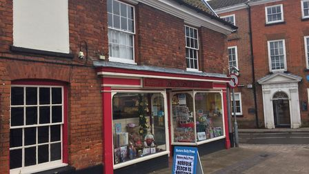 FC Barnwell & Sons in Market Place, Aylsham pictured in March last year. Pictures: David Bale