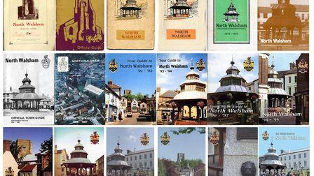 Old town guide covers. Pictures: supplied by Wayne Beauchamp
