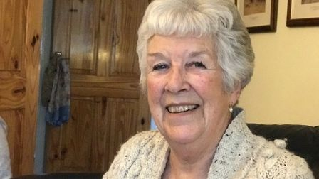 Christine Martin has said Barking Mad has helped her feel less lonely and has kept her active. Pictu