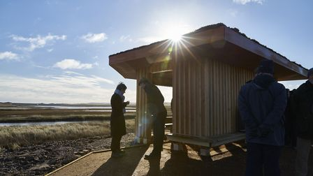 The Lookout at Cley Marshes. Picture: Richard Osbourne