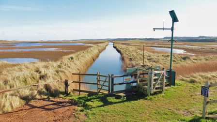 A view of Cley Marshes. Picture: DAVID THACKER