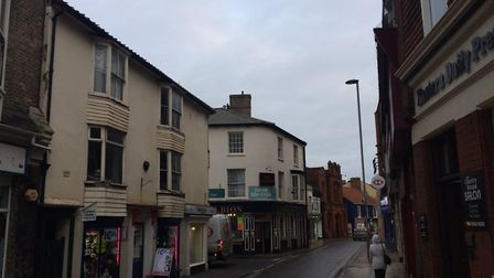 Roadworks in Church Street, Cromer have been postponed for a week. Picture: David Bale