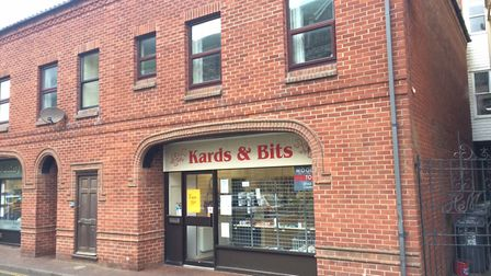 Kards and Bits is closing in Tucker Street, Cromer. Picture: David Bale