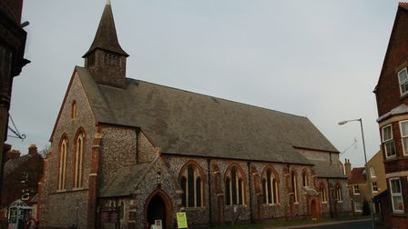 A donation box was stolen from St Peter's Church, Sheringham. Picture: Archant