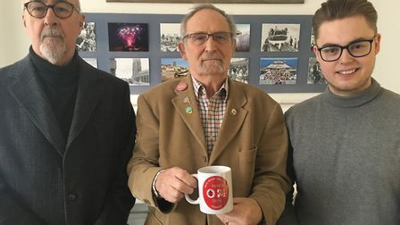 (L-R): Tim Bartlett, David Russell, and Jasper Haywood. Photo: Archant